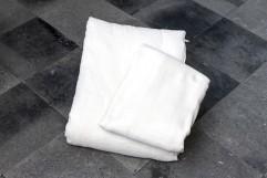 手引き真綿肌掛布団カバーセット SL (カバー:コットン二重織りガーゼ 生成)