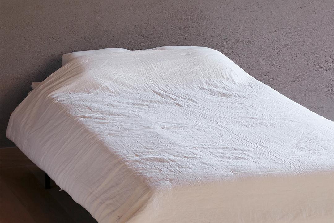 ウオッシャブル 手引き真綿肌掛布団