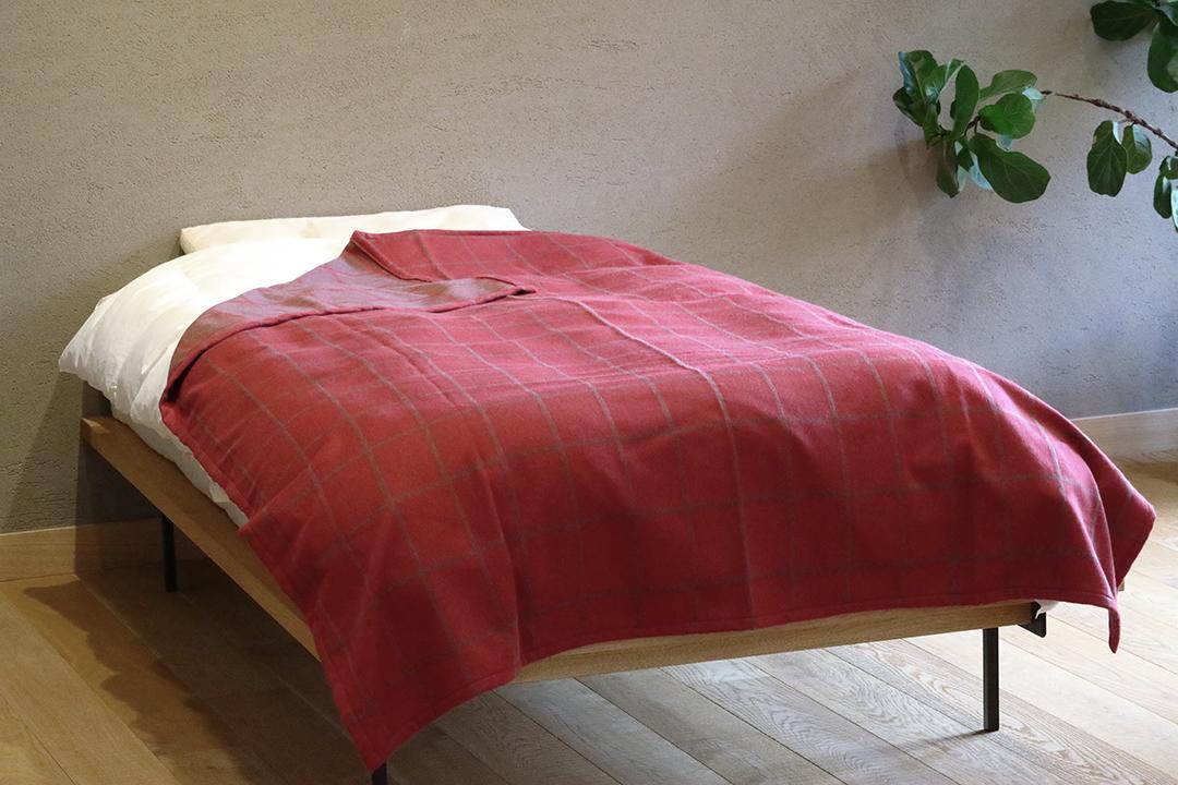 アンゴラ毛布 グレンサクソン